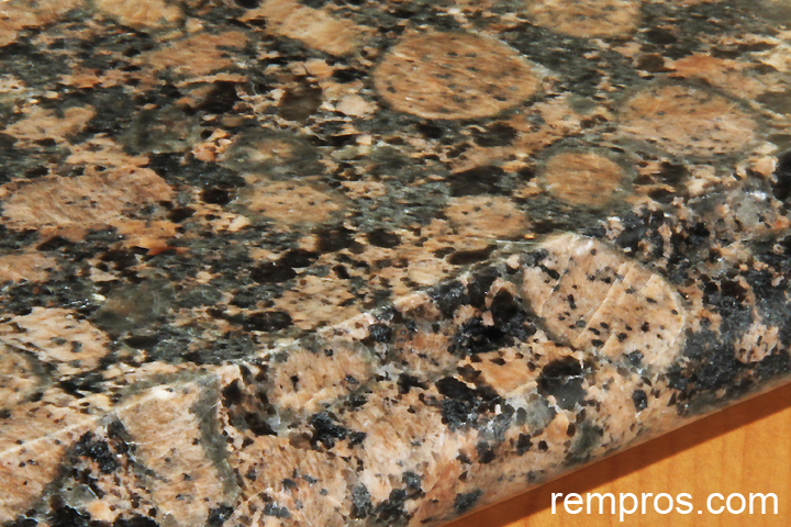 Baltic Brown Granite With Ogee Edge
