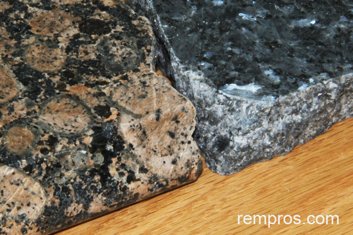 Emerald Pearl Blue And Baltic Brown Granite