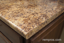 Laminate Kitchen Countertop. Granite Countertop