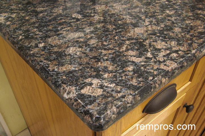 Tan Brown Granite Countertop