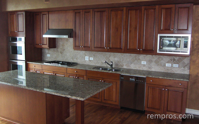 Kitchen Remodel Pictures Maple Cabinets kitchen with maple cabinets, granite countertop, stainless steel