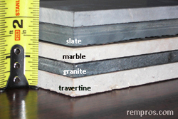 Stone Tile Thickness Thickness Of Stone Tile