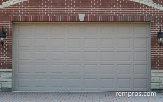 Sectional 2 car garage door for Two car garage doors