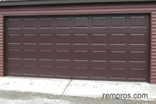 Steel Vs Sectional Wood Garage Door Comparison Chart