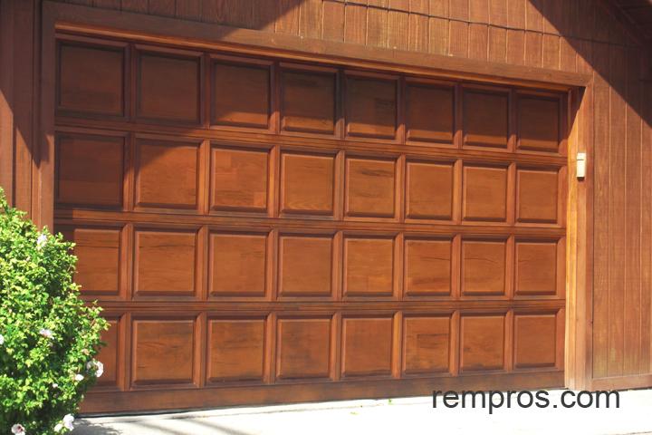 Sectional Wood Garage Door
