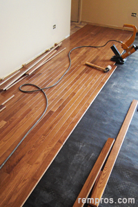 how to install prefinished solid hardwood flooring – nail down