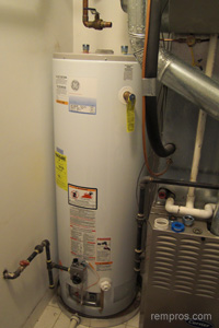 Gas water heater installation cost
