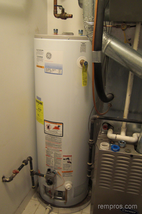 Natural gas storage tank water heater installation Natural gas water heater
