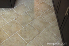 Ceramic Tile Kitchen Floor