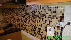 Kitchen Backsplash Outlet how to tile a backsplash. installation of kitchen backsplash